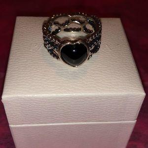 Mi amor Black Ónix Ring